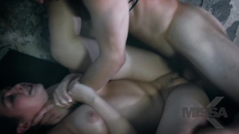 Incest scene where brother stoped time and fucked sister