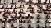 Caged Boot And Spit Slave (WL1480) - Mistress Nikki Whiplash