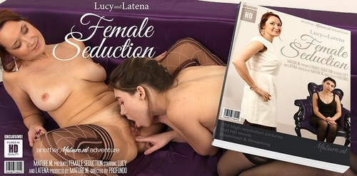 Latena 21, Lucy 44 - Naughty Milf Getting Seduced By A Hot Teeny Lesbian