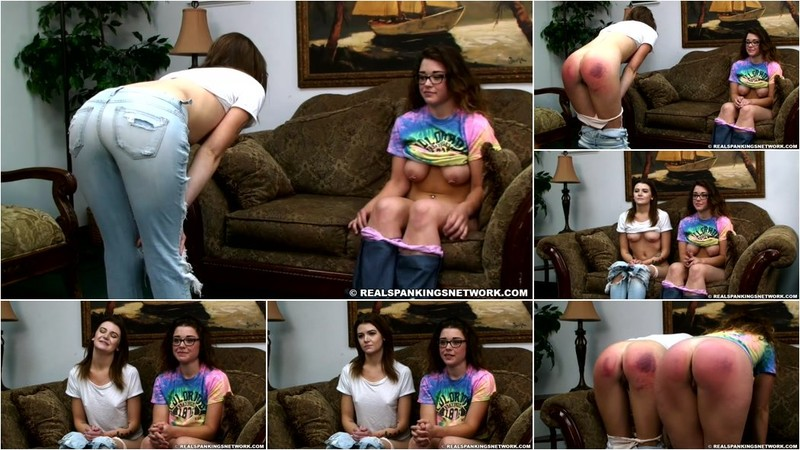 Maya, Rae - 2 Friends Embarrassed And Strapped [HD 720p]