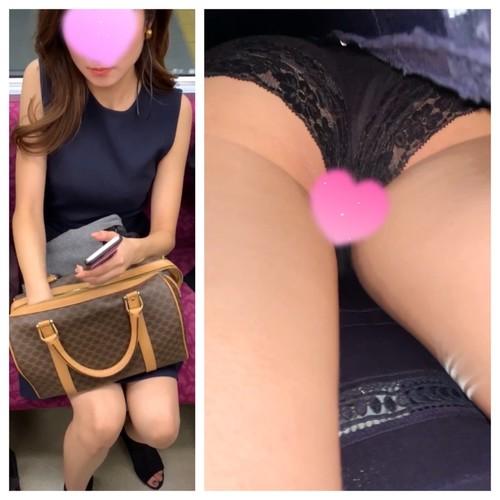可愛いお嬢様のスカートのなか エロい美脚&パンツを盗撮!顔出しあり!JD神回