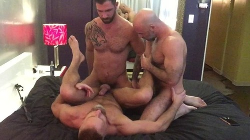 RawFuckClub - Have Some Flip Fucking Fun Part 1: Jake Nicola, Adam Russo, Dirk Caber Bareback