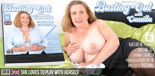 Camilla Creampie - Big Breasted Camilla Loves To Play With Her Pussy When Shes Alone (SD)