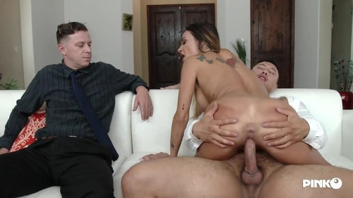 Claudia Valentine - Banged In Front Of Her Husband (HD)
